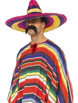Large Coloured Sombrero