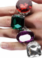 Large Jewelled Ring