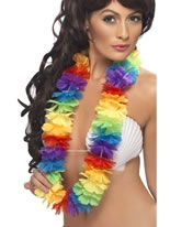 Large Rainbow Lei