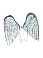 Childrens Silver Angel Wings