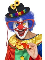 Large Squirting Clown Glasses [35239]