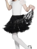 Layered Petticoat Black [20320]