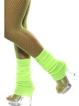 Leg Warmers Neon Green