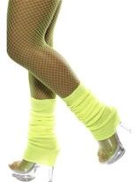 Leg Warmers Neon Yellow [32799]