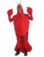 Adult Deluxe Mardi Gras Lobster Costume
