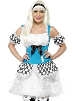 Adult Light Up Alice Costume