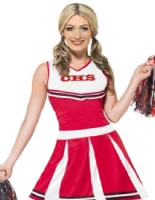 Adult Cheerleader Costume [40065]