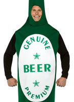 Adult Light Weight Beer Bottle [4000302]