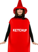 Adult Light Weight Ketchup Costume