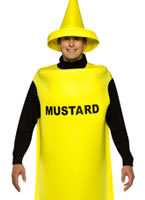 Adult Light Weight Mustard Costume