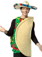 Adult Light Weight Taco Costume [4000311]
