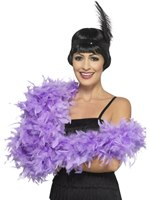 Lilac Deluxe Feather Boa