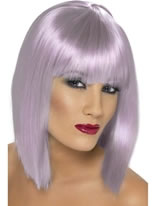 Lilac Short Glam Wig