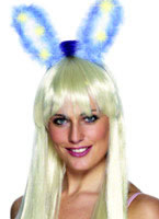 Marabou LIght Up & Glow Bunny Ears