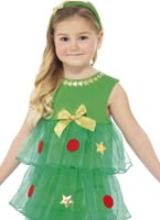 Little Christmas Tree Tutu Costume [24332]