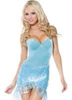Adult Blue Mermaid Costume