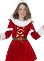 Child Little Miss Santa Costume [38196]