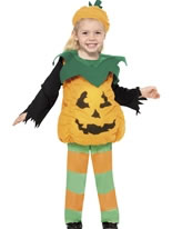 Child Little Pumpkin Toddlers Costume