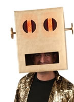 LMFAO Light Up Robot Pete Headpiece