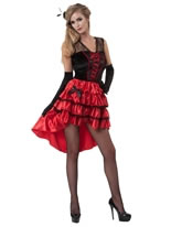 Lola Jet Burlesque Costume
