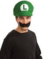 Luigi Moustache and Hat Kit