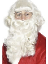 Luxury Santa Wig and Beard