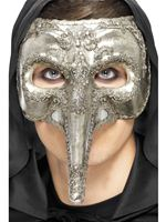 Adult Luxury Venetian Capitano Mask [27855]