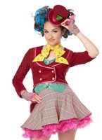 Teen Mad as a Hatter Costume