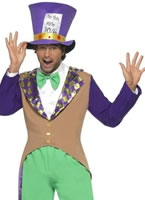 Adult Mad Hatter Costume [29025]