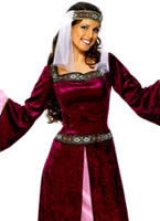 Maid Marion Costume Purple [30816]