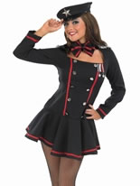 Adult Commander in Chief Army Girl Costume