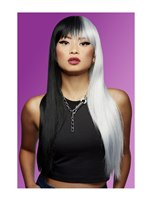 Manic Panic Raven Virgin Downtown Diva Wig