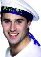 Marine Boy Sailors Hat