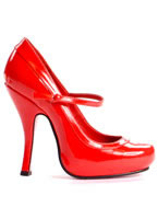 Mary Jane Shoe RED [5004-BabydlRED]