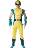 Adult Avengers Assemble Deluxe Wolverine Costume