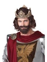 Medieval King Wig [70676]