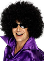 Mega Huge Afro Wig Black