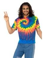 Mens 1960s Tie Dye T-Shirt [47207]