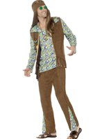 Mens 60's Hippie Costume [43126]