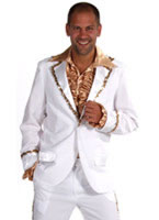 Adult Mens Bling Suit White Costume [210236-1]