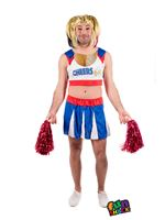 Mens Cheers Leader Costume