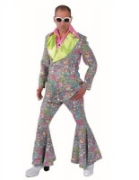 Mens Deluxe 60's Happy Hippie Suit [214220]