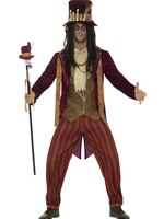Mens Deluxe Voodoo Witch Doctor Costume