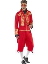 Adult Devil Masquerade Costume