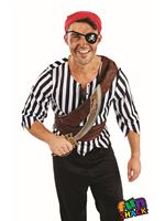 Mens First Mate Pirate Costume