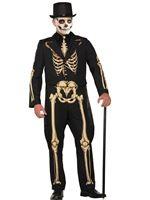 Mens Formal Skeleton Costume