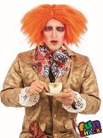Mens Ginger Curly Wig [FS4421]