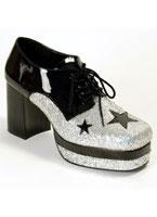 Men's Glam Rock Platform Shoes [GLAM02BSG]