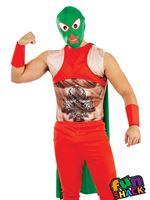 Mens Mexican Wrestler Costume [FS4322]