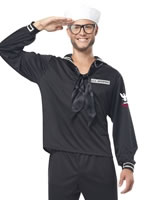 Adult Mens Navy Sailor Costume
